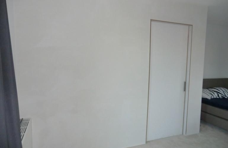 Wand Maken Met Schuifdeur : HOME Projecten Geisoleerde wand plaatsen ...