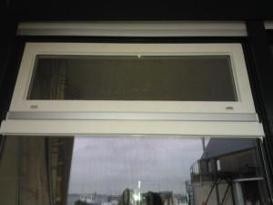 Plaatsen van kalf met daarboven een nieuw raam